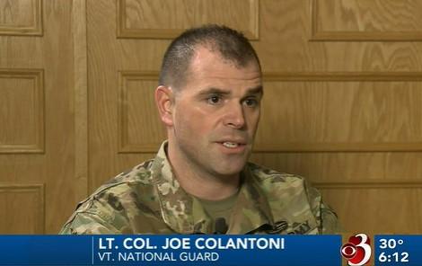 Lt. Col. Joe Colantoni '03