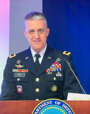 Maj. Gen. Doug Stitt '90