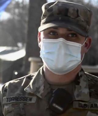 U.S. Army 1st Lt. Andrew Torressen '17