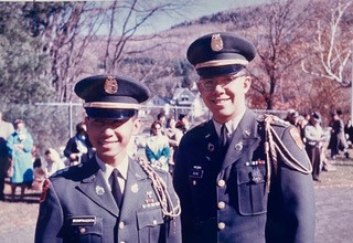 Charn Boonpraserth '64 and Mike Elkins '64