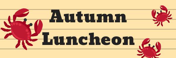 Punta Gorda Autumn Luncheon Graphic