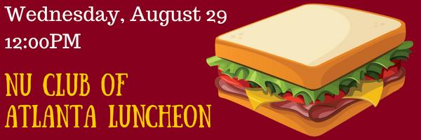Atlanta August Luncheon