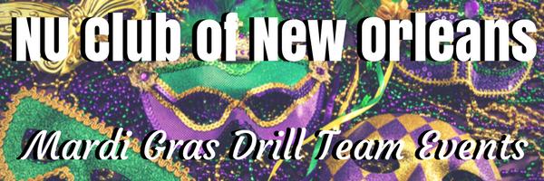 Mardi Gras Drill Team Events Graphic