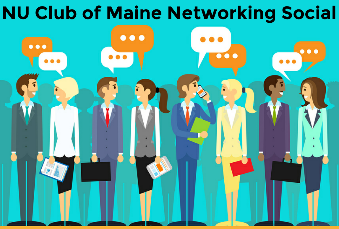 Maine Networking Graphic