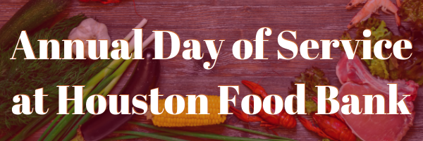 Houston Day of Service Graphic