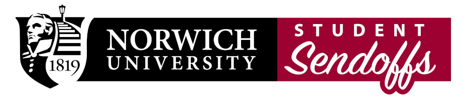 Norwich Student Sendoff Logo
