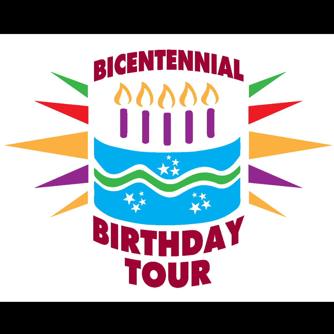 Bicentennial Birthday Tour Logo