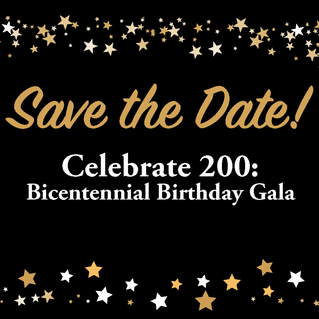 Gala Save the Date Graphic