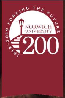 Forging the Forging 200 Bicentennial banner