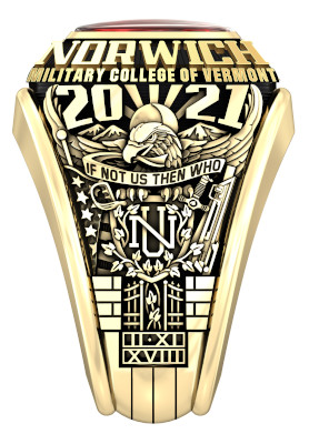 NU Class of 2021 Corps Ring