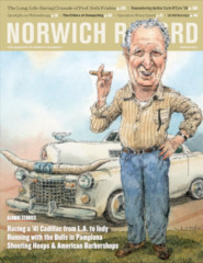 Norwich RECORD Spring 2021 Issue - cover image