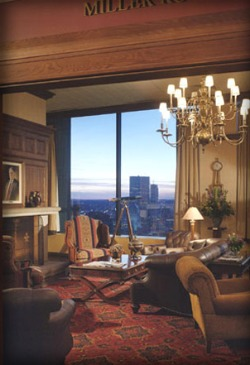 Harvard Club of Boston Sitting Area