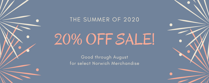 Summer 2020 20% Off Sale