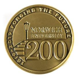 Bicentennial Challenge Coin - 200 Side