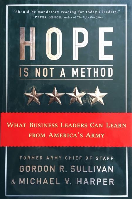 Hope is Not a Method Hardback
