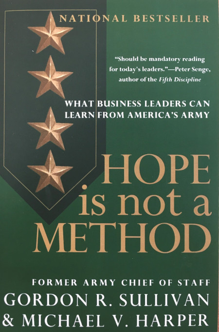 Hope is Not a Method Paperback