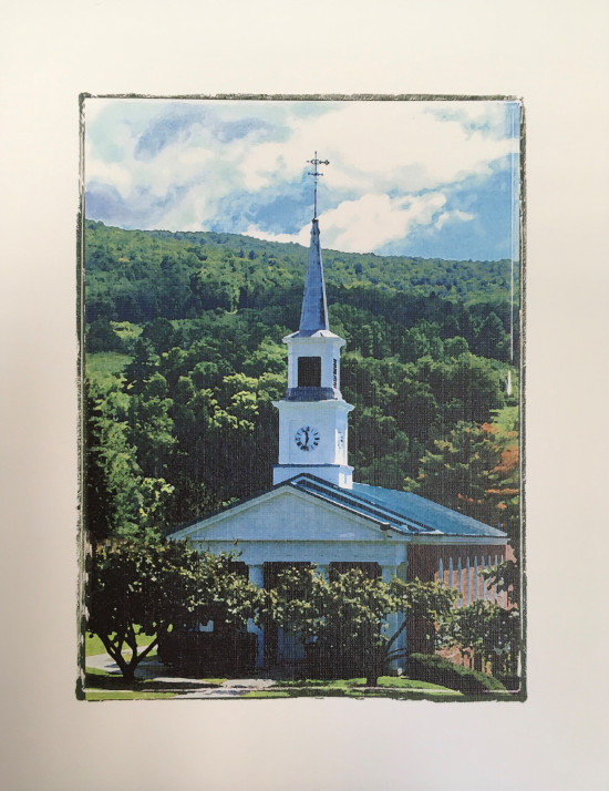 White Chapel Photo Notecard