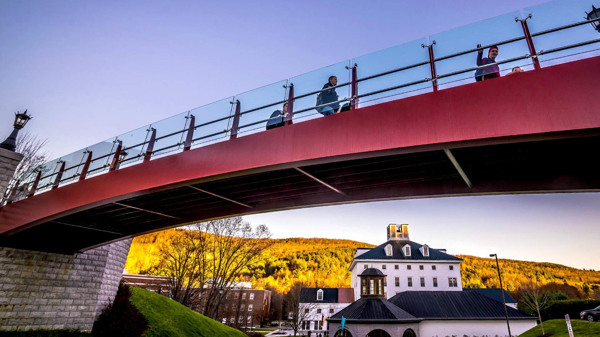 Campus Bridge - Beauty Fall Scenic