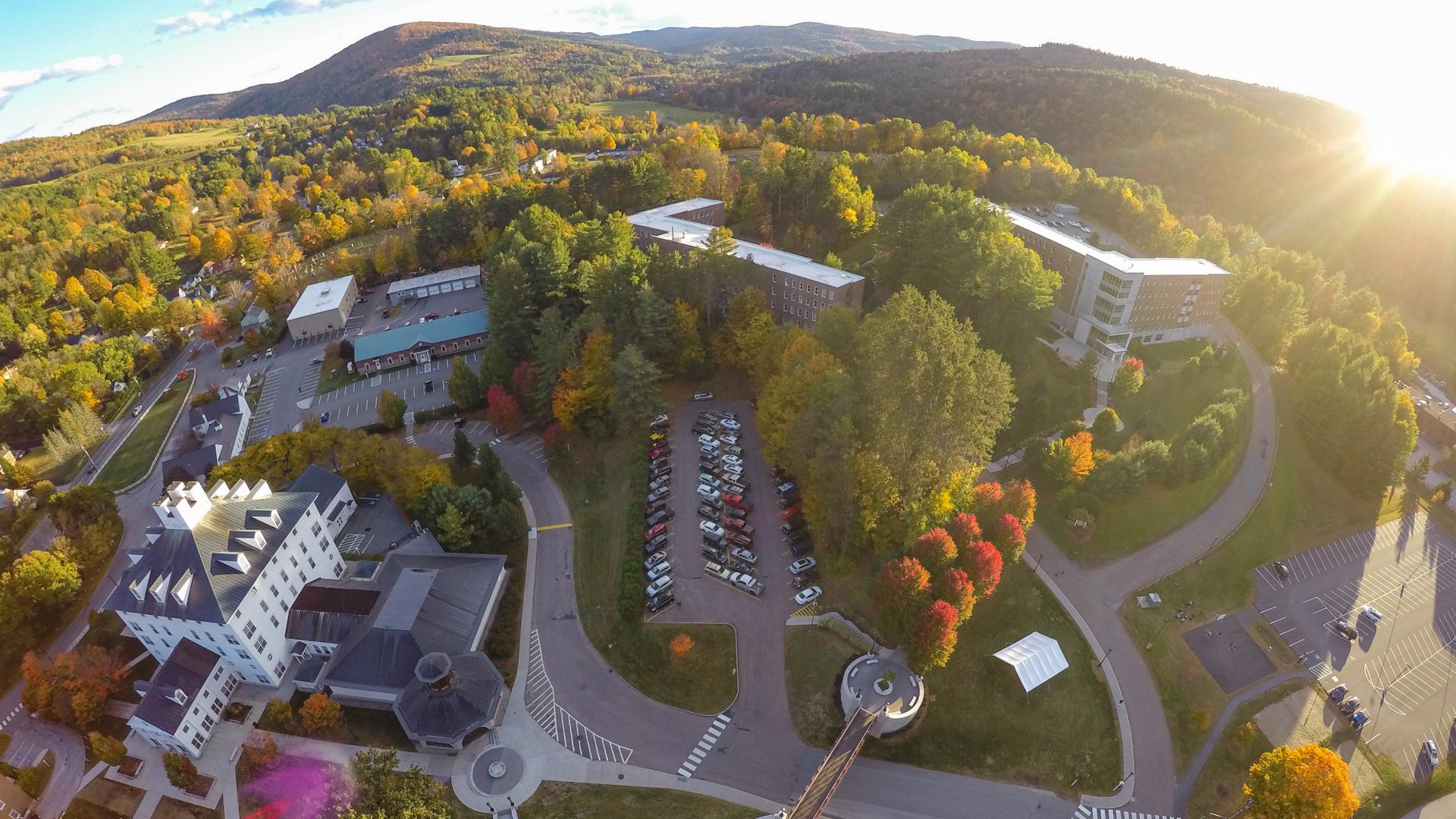 Aerial Photo of Campus 2
