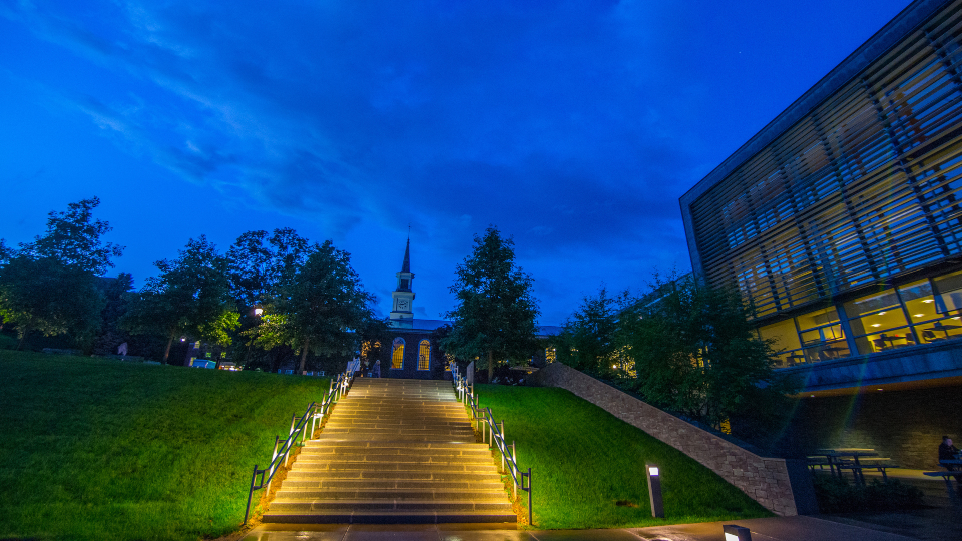 Campus Scenic WCC W Stairs